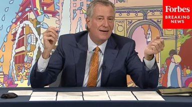 'Knifings And Stabbings And Shootings': De Blasio Confronted Over School Violence