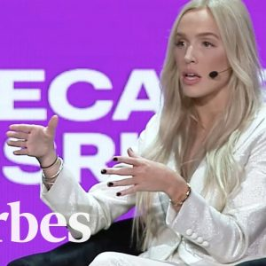 Call Her Daddy Host Has No-Holds-Barred Conversation At Forbes Under 30 Summit