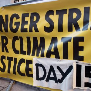 Environmentalists Holding Hunger Strike Outside White House Over Lack Of Climate Action