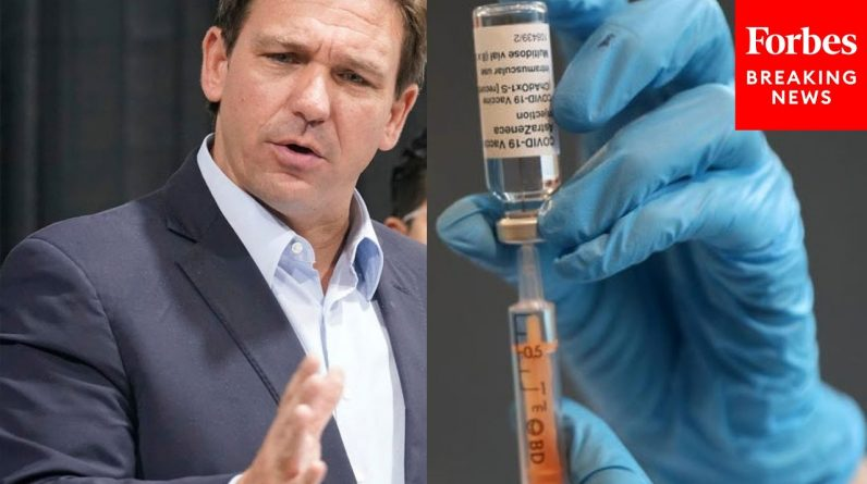 'People Are Trying To Say It's A Vaccine Issue, It's Not': DeSantis Defends Police Officer Bonus