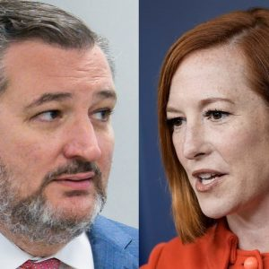 Psaki Mocks Ted Cruz Over 'Absolutely False' Claims About Vaccine Mandates And Jobs
