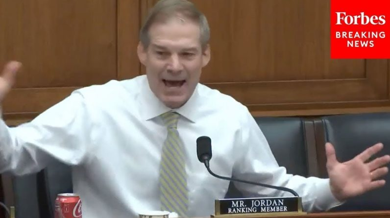 'May Be The Craziest Thing I've Ever Heard': Jim Jordan Blasts Democrats During House Hearing
