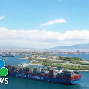 A Greek Shipping Port And China's Major Global Infrastructure Push