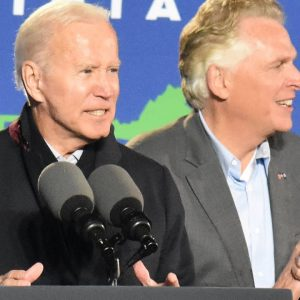 Biden Attacks McAuliffe Opponent Youngkin As 'Acolyte Of Trump' At Virginia Rally