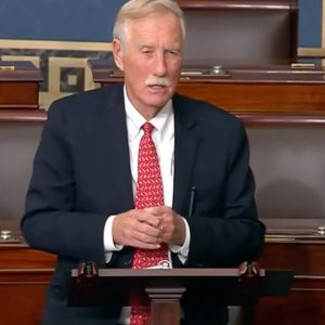 Angus King Makes The Case For Democrats' Voting Rights Legislation