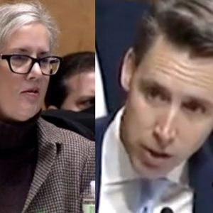'I'd Like An Answer To My Question': Hawley Grills Witness On Whistleblower Complaint
