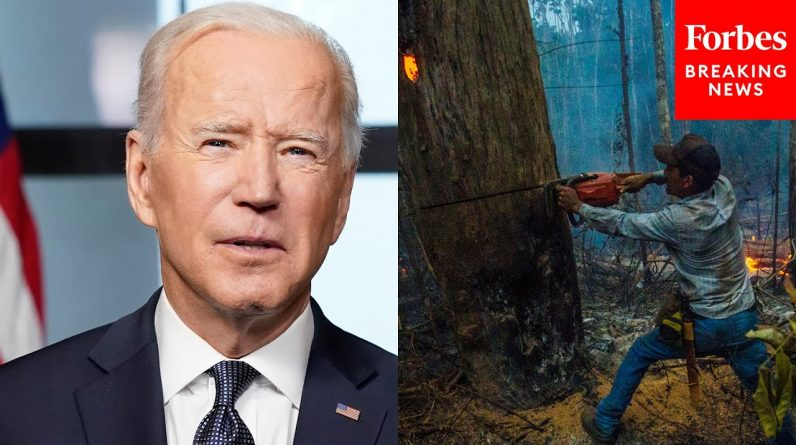 Biden Set To Attend Major Global Climate Summit As His Agenda Whittled Away At Home