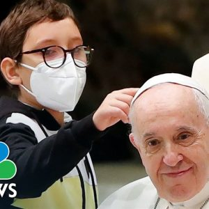 Boy Steals Scene At pope's Audience By Wanting Francis' Skullcap