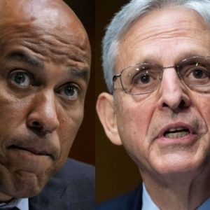 Cory Booker Discusses Reforming Drug Laws With AG Merrick Garland