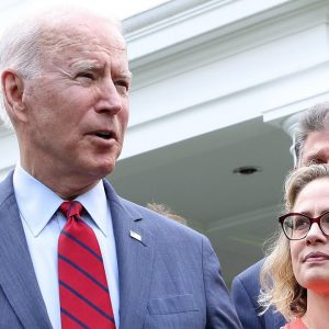 Sinema Has Pushed Back On Biden's Plan To Raise Taxes On Rich, Throwing Another Wrench In His Agenda