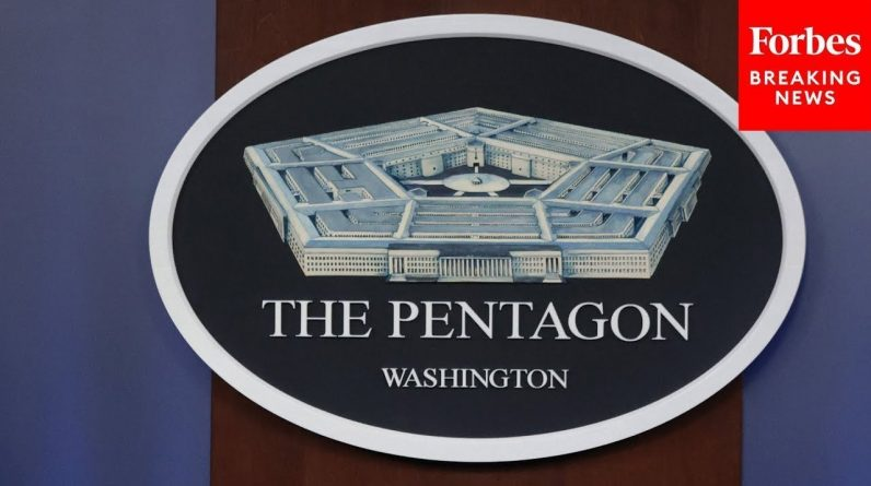 Department Of Defense Holds Press Briefing