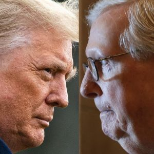 McConnell Says GOP Shouldn't Be 'Talking About The Past'—As Trump Continues False Election Claims