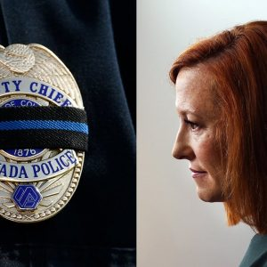 'What Was The Number One Cause Of Death Of Police?': Psaki Says Vaccine Mandates Save Cops Lives