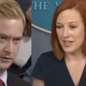 Psaki And Reporter Clash Over Biden's Comments About Having Visited The Southern Border