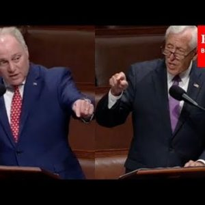 Scalise And Hoyer Debate Border Security, Inflation, IRS Enforcement, And Bipartisanship