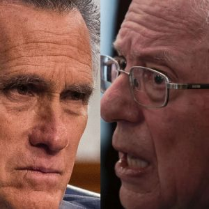 'I Feel The Need To Respond To That': Mitt Romney Interrupts Hearing To Refute Bernie Sanders