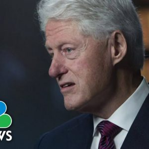 Former President Bill Clinton Hospitalized With Infection