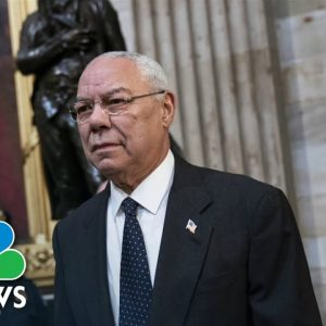 General Colin Powell Dies Of Covid Complications At Age 84