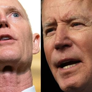'In Joe Biden's America, The Government Knows Better Than The People': Scott Rips Vaccine Mandates