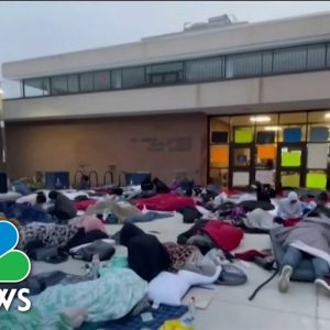 Howard University Students Protest Housing Conditions