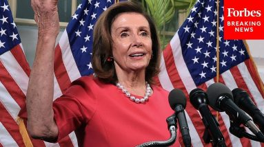 'That Is An Applause Line': Pelosi Gives Speech At NATO Parliamentary Assembly