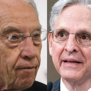 JUST IN: Grassley Confronts Garland About 'Polarizing' School Board Memo
