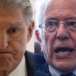 JUST IN: White House Weighs In On Manchin-Sanders Feud