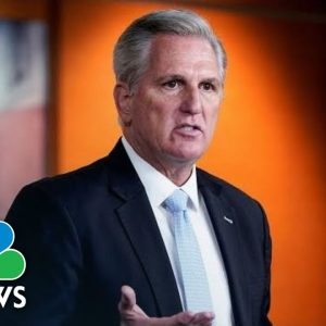 LIVE: Rep. Kevin McCarthy Holds Weekly Briefing On Capitol Hill | NBC News
