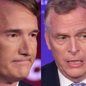 'This Race Is Tied': Glenn Youngkin Campaigns Against McAuliffe In Virginia Governor's Race Poll