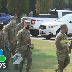 National Guard Deployed To Help With Covid Testing In Massachusetts