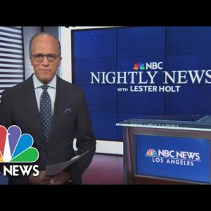 Nightly News Full Broadcast - October 22nd