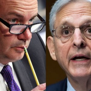 'I Think That's Weird, I Think That Makes Me Very Uncomfortable': Mike Lee Grills Garland In Hearing