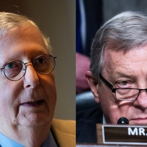 Durbin Questions How McConnell Can Denounce Spending Bill When Details Haven't Even Been Decided