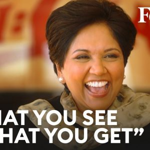 """Indra Nooyi On Owning Her Authentic Self: """"What You See Is What You Get"""" 