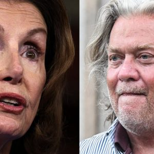 Pelosi Urges GOP To Vote To Hold Bannon In Contempt Or Risk 'Undermining Constitution'