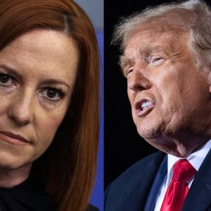 Psaki Decries People 'Blindly Following' Former President's Various Conspiracy Theories