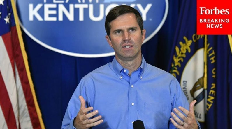 'A Lot Of Thrilling News': Kentucky Gov. Andy Beshear Holds Press Briefing On Economy