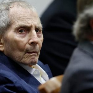 Robert Durst Charged With Murdering His Wife