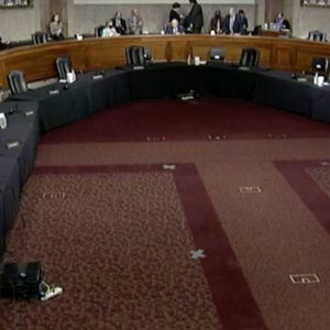 Senate Armed Services Committee Holds Confirmation Hearing