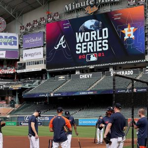 Sheila Jackson Lee Cheers On Astros As They Kick Off World Series