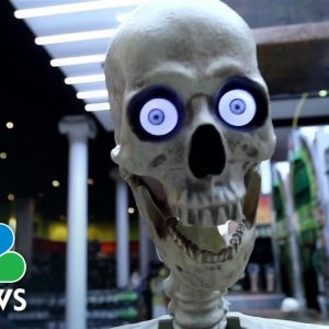 Shoppers Experience Halloween Supply Shortages
