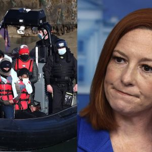 Psaki Asked About Migrants Being Flown Into States 'In The Middle Of The Night'