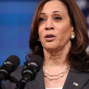 ''We Are Confident That We Will Get It Done': Kamala Harris Addresses Infrastructure Bill