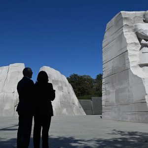 Biden, Harris Celebrate 10th Anniversary Of The Dedication Of The Martin Luther King, Jr. Memorial