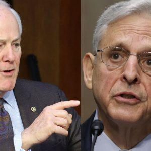 'I Think You Can Answer That -- Yes Or No?': Garland Confronted Over School Board Memo By Cornyn