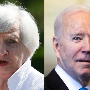 Janet Yellen Joined Biden And Dem Lawmakers' Meeting About Reconciliation Bil
